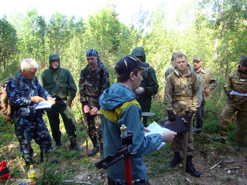 Коллективная тренировка таксаторов 23 мая 2014
