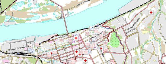 Интерактивная карта «Пермь университетская в 1910-е — 1920-е годы»